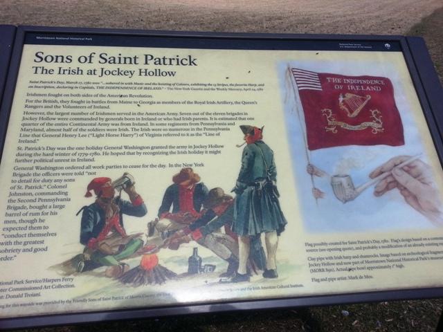 Jockey Hallow Sons Of Patrick